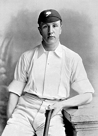 Frank Mitchell (sportsman, born 1872) - Mitchell in about 1895
