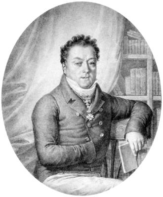 Franz de Paula Adam von Waldstein - Count Franz Adam Waldstein, lithograph by Josef Lanzedelli (d. 1832)
