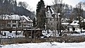 Franzoseneinfall (Schweiz) - 1798 - Neuenegg bzw. Flamatt - Blick vom bernischen Neuenegg über die Sense hinüber nach dem freiburgischen Flamatt.jpg