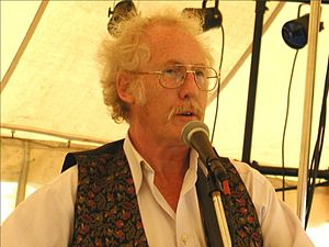 Scrumpy and Western - Image: Fred Wedlock at Allerford Folk Festival, Somerset