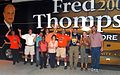 Fred tour bus welcome in Jacksonville (1365684511).jpg