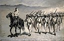 "Frederic Remington - Mexican Infantry ""On the March"" - 1981.341 - Museum of Fine Arts.jpg"