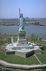 Statue of Liberty and Liberty Island