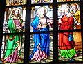 Freistadt Pfarrkirche - Fenster 5a Heimsuchung.jpg