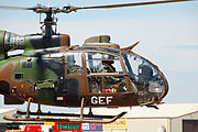 French army gazelle at riat 2010 arp