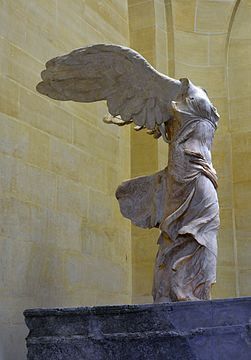 Front right view of the Nike of Samothrace.jpg
