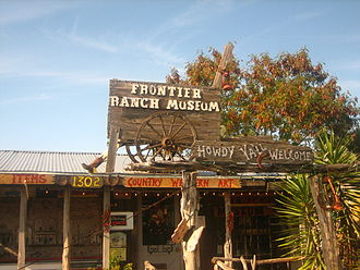 Zapata, Texas - Image: Frontier Ranch Museum in Zapata, TX IMG 2040