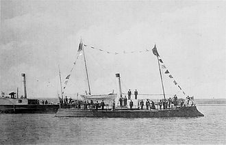 "Romanian Naval Forces - ""Fulgerul"" (The Lighting) gunboat, built in 1873 at Toulon and armed in the following year at Galați, was the first military ship to have sailed under Romanian flag in maritime waters."