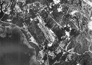 Marine Corps Air Station Futenma - Futenma Air Base in Okinawa, Japan circa 1945