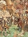 GA Cloß - Rapperswils Beitritt zur Alten Eidgenossenschaft im Jahr 1461 (Wandgemälde ca.1900).jpg