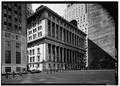GENERAL VIEW - National City Bank, 55 Wall Street, New York, New York County, NY HABS NY,31-NEYO,158-1.tif