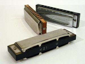 Richter-tuned harmonica - Blues Harp