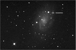NGC 2403 - SN2004dj