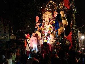Bhandup - 2016 Ganpati Visarjan (Ganesh Chaturthi) - Bhandup west