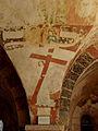 Gargilesse-Dampierre (36) Église Saint-Laurent et Notre-Dame Crypte Fresques 39.JPG