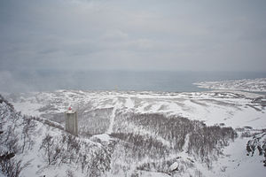 Norway–Russia border - Norwegian border outpost in March