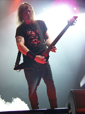 Exodus (American band) - Guitarist Gary Holt has been a member of Exodus since 1981, and is the only member to have performed on all of the band's albums.