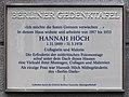 Gedenktafel Büsingstr 16 (Fried) Hannah Höch.jpg