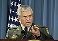 Gen. George W. Casey, Jr. responds to a reporter's question, Oct. 2006.jpg