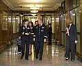 Gen Martin E. Dempsey and BG Colleen McGuire at the Hall of Heroes May 2012.jpg