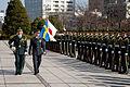 General Sverker Göranson visit Japan on March 2015.jpg