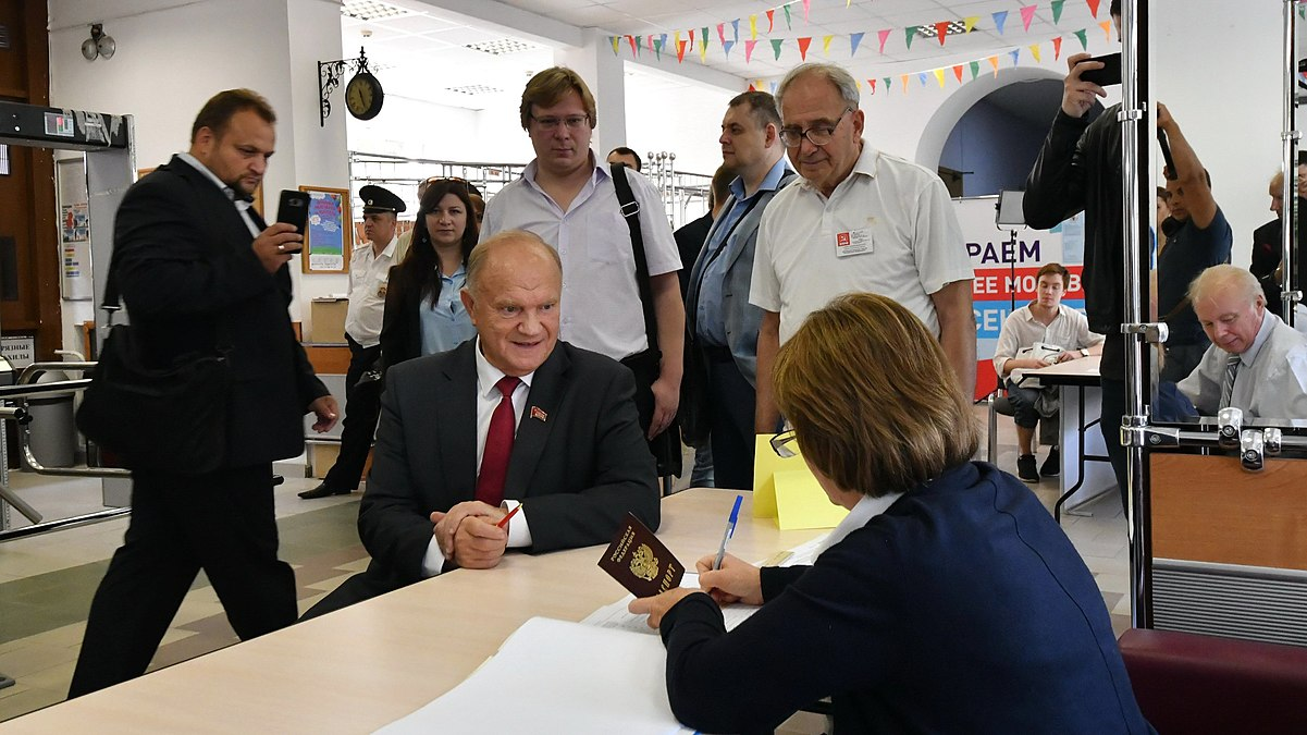 Gennady Zyuganov vote in the Moscow mayoral election (2018-09-09) 01.jpg