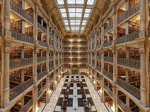 George-peabody-library