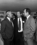 George Bush and James Baker visit with US Senator Paul Laxalt (R-Nev) during the 1980 campaign.jpg