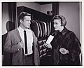 George Peppard and Patricia Neal in Breakfast at Tiffany's, 1961.jpg