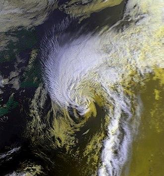 NOAA-6 - Image: Georges 08 sep 1980 1158Z N6