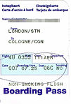 Germanwings - boarding pass 4U 355 London-Cologne 2011-04-11.jpg