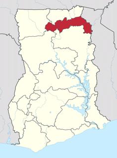North East Region, Ghana Region of Ghana