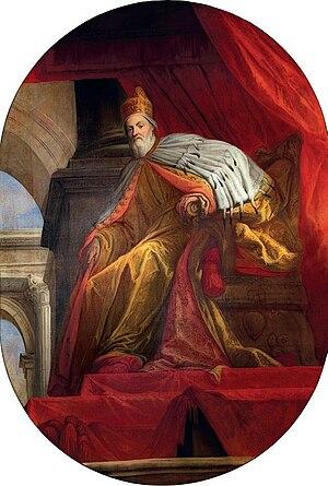 Giovanni I Cornaro - Portrait of Giovanni I Cornaro by Sebastiano Ricci.