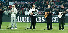 Gipsy Kings – Portugal vs. Argentina, 9th February 2011 (1).jpg