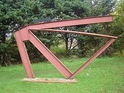 Girder Structure, Norwich.JPG