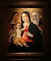 Girolamo di benvenuto, madonna col bambino tra i ss. g. battista e caterina da siena, 1510-20 ca.jpg