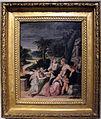Girolamo mazzola bedoli, sacra famiglia col battista e angeli, 1530-35, P544.JPG