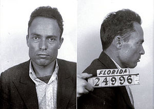 Giuseppe Zangara - Mug shots of Giuseppe Zangara following his arrest.