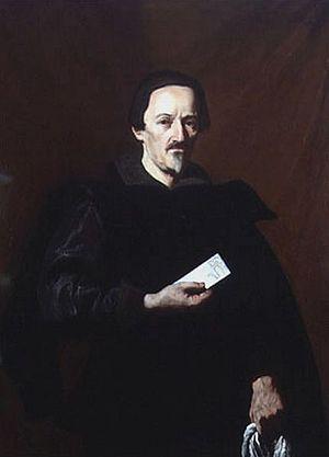 Vincenzo Giustiniani - Vincenzo Giustiniani in a portrait by Nicolas Régnier (c. 1630)