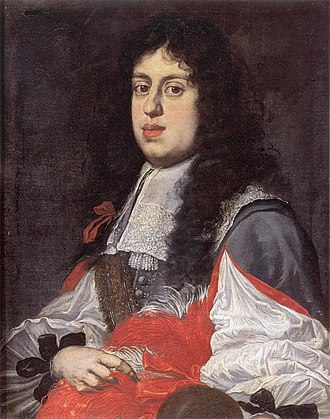Cosimo III de' Medici, Grand Duke of Tuscany - Cosimo around 1660, by Sustermans