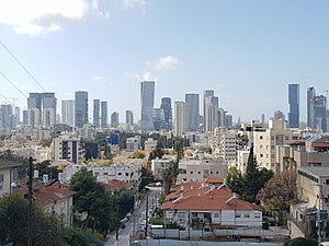 Giv'atayim from Koslovsky Hill 2020.jpg