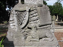 Memorial dedication to John Keegan 'Leo' Casey (1846 – 17 March 1870), known as the Poet of the Fenians