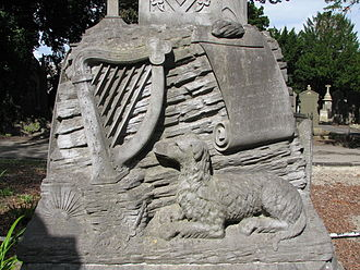 Fenian - Memorial dedication to John Keegan 'Leo' Casey (1846 – 17 March 1870), known as the Poet of the Fenians