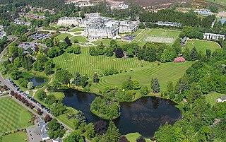 Gleneagles Hotel hotel near Auchterarder, Perth and Kinross, Scotland