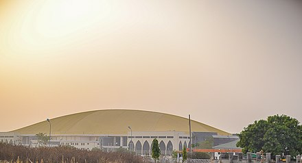 Glory Dome, affiliated with Dunamis International Gospel Center, with 100,000 seats, in Abuja, Nigeria