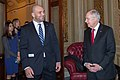 Glover Teixeira and Senator Harry Reid in 2014.jpg