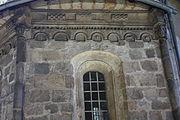 Gościszów Kościół Matki Bożej Częstochowskiej fryz z dekoracja figuralna 05.JPG