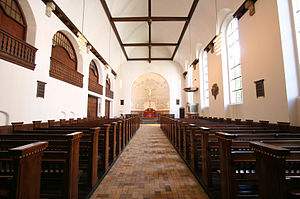 Godthaab Church, Copenhagen - The interior