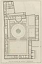 Goetghebuer - 1827 - Choix des monuments - 097b Plan palais justice Bruxelles.jpg