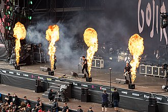 Gojira (band) - Image: Gojira 2017155160852 2017 06 04 Rock am Ring Sven 1D X II 0458 AK8I9752